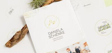 Corporate Design Daniela Schenke Feng Shui Beratung in Kempten